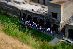 Herculaneum, Italy (SomePhotosTakenByMe) Tags: photoeffect effect tilt tiltshift gebäude building urlaub vacation holiday italy italien stadt city ruin ruine ercolano herculaneum herkulaneum