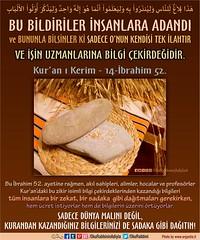 Kerim Kur'an 14-52 (Oku Rabbinin Adiyla) Tags: allah kuran islam ayet ayetler bible torah holybook holybible jesus church beard muslim oku book