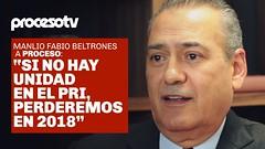 """Proceso TV – Manlio Fabio Beltrones: """"Si no hay unidad en el PRI perderemos en 2018"""" (conectaabogados) Tags: """"sí 2018 beltrones fabio manlio perderemos proceso unidad"""