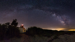 Milky Way over East Point Lighthouse (Dante Fratto Photography) Tags: astro astrophotography beaches delawarebay eastpointlighthouse heislervillenj jerseyshore landscapes lighthouses milkyway newjersey southjersey nightphotography