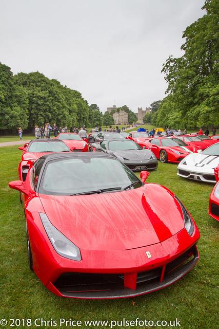 Ferrari 70th Anniversary Tour, The Long Walk, Windsor 15th July 2017