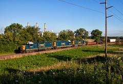 EMDs on J782 (Wheelnrail) Tags: emd gp402 locomotive railroad csx toledo subdivision train trains rail road ohio j782 local