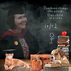 Miss Thomas (tina777) Tags: scrapbooking page serif craft artist digikit teacher school