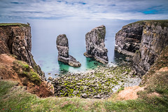 Stack Rocks (Andrew Bloomfield Photography) Tags: andrewbloomfieldphotography landscape location outdoor pembrokeshire photograph rock summer uk wwwandrewbloomfieldphotographycouk stackrocks wales rocks stack sea seascape elegug coast water cliff cliffs beauty landscapebeauty view viewpoint fujifilm