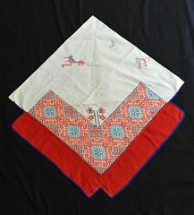 Huichol Mans Cape Mexico Textiles (Teyacapan) Tags: cape huichol wixarika jalisco nayarit mexico textiles embroidery clothing indumentaria