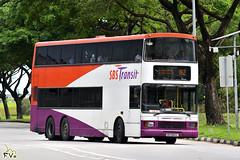 SBS Transit Volvo Olympian 12m (Alexander R Type Bodywork) (kenli54) Tags: sbs sbstransit volvo olympian b10 b10t alexander alx sbs9660l 182 singapore singaporebus singaporebuses bus buses doubledeck doubledecker noadv