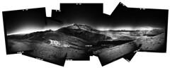 Mt. St. Helens (Zeb Andrews) Tags: holgarama filmisnotdead filmphotography blackwhite mtsthelens washington pacificnorthwest landscape mediumformat pano ilfordsfx