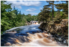 Low Force rapids (malcbawn) Tags: lowforce malcbawncouk summer landscape waterfall teesdale waterfalls water nd1000 highforce outdoors canon durham tees malcbawnphotography