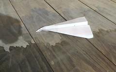 La gondole des airs en cale sèche à Venise by Robert Saucier -
