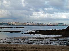 Marea baja / Low tide en Santa Cruz de Lians (Rafa Gallegos) Tags: galicia santacruzdelians oleiros acoruña españa spain playa beach mareabaja lowtide
