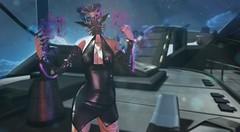 Cybermancer Mistress (Zoe Willows) Tags: zoewillows secondlife sl space planets newworld metaverse vr 3d slart slmesh cyberpunk scifi sciencefiction fantasy sensuality robot gynois cyborg toughgirl belleza isis alien slalien slelf elf secondlifecyberscifi