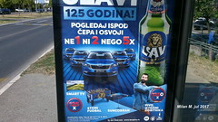 Lav pivo, (Beer Lion) (Milan Milan Milan) Tags: lav pivo nagradna igra bilboard reklama stanicna beer lion pivara jul2017 125godina 125godinapivare jul 2017 пиво наградна игра нови београд јул јул2017 125година 125 година stanična new belgrade