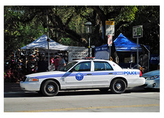 City of Miami Police vehicle (Infinity & Beyond Photography) Tags: city miami police patrol car vehicle coconut grove florida cars vehicles law enforcement ford crown vic victoria interceptor