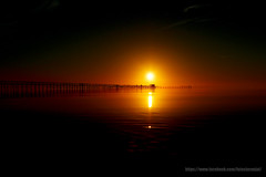 Extreme sunrise (wagnerm25) Tags: laranjal landscape twilight trapiche pelotas pier dock deck dusk down sunset sunrise sun dark