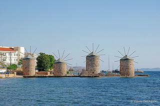 Chios - Molini a Vento - Windmills