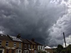 Portent (Boxley) Tags: cloud cloudscape eltham grangehillroad london rain telephonepole