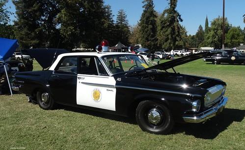 Tulare Ca Police 1962 Dodge Dart 330 Restored Replica 18 A