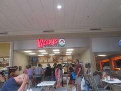 Wendy's (Random Retail) Tags: watertown ny 2016 store retail mall salmonrunmall wendys restaurant foodcourt