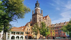My city. (katarzynapawlikowska) Tags: poland oldtown mycity cathedral beautiful sunnyday goodview photography city smallcity