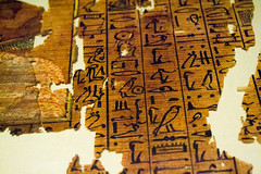 Written (Stray Toaster) Tags: cambridge fitzwilliam museum egyptian book dead papyrus ramose
