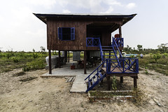 Khmer house (Keith Kelly) Tags: anlongklong asia cambodge cambodia kh kampuchea keithkelly khmerhouse krakor pursatprovince southeastasia country countryside farmland keithakelly rural pouthisat