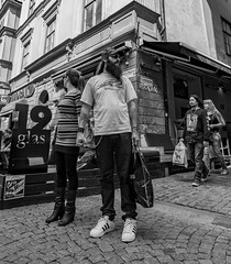 Left or Right...    Stockholm / Sweden (mikeback-streetphotography) Tags: blackandwhitephotography blackandwhite black bnw blackwhite beautiful bw beard urbanwalls urban urbanart monochrome mono monochromatic woman gamlastan stockholm people photography photographer photo photooftheday couple streetphotographers streetphotography streetphoto sweden street streetart streetarteverywhere streetartistry streetlife streetstyle girls tattoes gatufotografi girl guy mikebackstreetphotography mike back