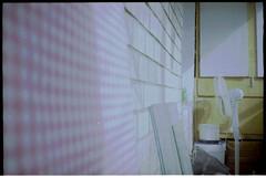 15ю1 (swan.mary) Tags: film эликон street home green 1stroll purple blue ukraine summer analog pink kiev