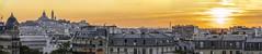 Montmartre (magma_dou) Tags: paris capital montmartre sunset sunrise golden hour toits panorama vue sun soleil light