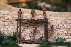 Fixing the Wall (Jerry Bowley) Tags: rivieramaya xelha model ecopark tulum diorama allinclusive
