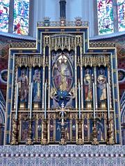 Eastbourne - St Saviour & Saint Peter's Church, South Street (Glass Angel) Tags: eastbourne stsavioursaintpeterschurch southstreet stsaviour reredos allenofoxford whrandolphblacking