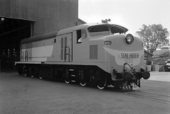 Locomotive 1255, English Electric factory, Rocklea, 4 September 1960 (Queensland State Archives) Tags: queenslandstatearchives qsa queensland 1960s 1960 railway locomotive diesel brisbane rocklea englishelectric