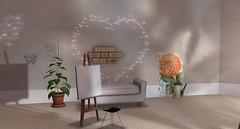 Contemporary Sketchbook (Akaesha Revnik) Tags: second life secondlife akaesha react animated furniture animations couple bed bath sofa set