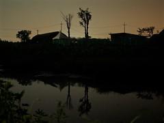 river_1360175 (strange_hair) Tags: river reflection street korea midnight