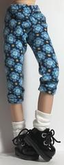 Blue Flower Power...Leggings For Blythe...