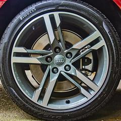 The New Wheel (s) (Timothy Valentine) Tags: home 2017 deutscheräder 0717 automobile audi squaredcircle wheel eastbridgewater massachusetts unitedstates us