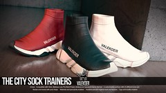 [VALE KOER] CITY SOCK TRAINERS (VALE KOER) Tags: vk vale koer valekoer second life sl secondlife mya city sock mesh sneaker uber
