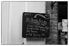 Pat Thomas + Scatter (Phil Minton, Pat Thomas, Dave Tucker, Roger Turner) @ Cafe Oto, London, 27th July 2017 (fabiolug) Tags: blackboard billboard board cafeotoblackboard ashwinst ashwinstreet handwriting handwritten patthomas scatter philminton davetucker rogerturner improvisation improv avantgarde avantgardejazz cafeoto london dalston music gig performance concert live livemusic leicammonochrom mmonochrom monochrom leicamonochrom leica leicam rangefinder blackandwhite blackwhite bw monochrome biancoenero zeisscsonnartf1550mmzm zeisszm50mmf15csonnar zeisscsonnar zeisssonnar zeiss sonnar 50mm sonnar50mm 50mmf15