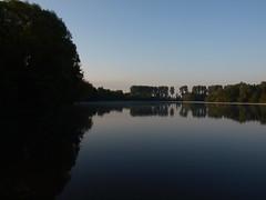 Baggersee Barmen (reuas ogni) Tags: see lake sonnenaufgang sunrise spiegelung reflektion reflection wasser water landschaft landscape seascape olympus isoz zuiko