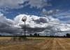 Eolienne et ciel (Jacq-R) Tags: concret construction industrieagriculture éolienne