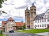 """Der """"Dom der Wetterau"""" (JohannFFM) Tags: ilbenstadt wetterau dom romanisch"""