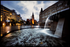 Angerbrunnen (Krueger_Martin) Tags: brunnen wasser water light lights licht nacht night langzeitbelichtung hdr photomatix erfurt thürigen architecture architektur stadt urban city colorful bunt farbig weitwinkel wideangle ultraweitwinkel sigma sigma1224exdghsm canoneos5dmarkii canoneos5dmark2