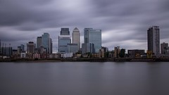 192/365  038/100x (neals pics) Tags: my100xlongexposure longexposure london thames river water sky clouds docklands canary wharf banking towers skyscrapers glass reflections 365the2017edition 3652017 day192365 11jul17 100xthe2017edition 100x2017 image38100