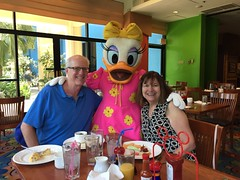 "Grandma and Grandpa Miller with Daisy Duck • <a style=""font-size:0.8em;"" href=""http://www.flickr.com/photos/109120354@N07/35596586650/"" target=""_blank"">View on Flickr</a>"