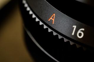 Fujinon 35f2 aperture ring