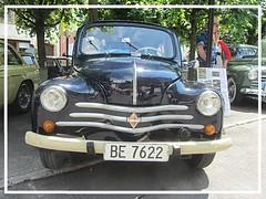 Renault 4 CV, R 1062, 1957 (v8dub) Tags: renault 4cv r 1062 1957 schweiz suisse switzerland french pkw voiture car wagen worldcars auto automobile automotive old oldtimer oldcar klassik classic collector