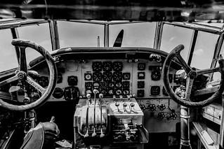 Cockpit der Tante Ju