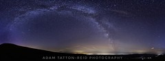 Milky way over Mynydd Troed (adam.tattonreid) Tags: stars star milkyway space panorama night wales astrophotography astro astrophotographers longexposure nikond5500 nikon tokina tokina1116 landscape