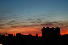 IMGL4012_DxO (baptisteflageul) Tags: couchedesoleil sunset soir evening soleil sun nuages clouds cloudporn ciel sky skyporn orange rouge red jaune yellow wow nature paysage landscape bleu bluehour blue paris france urbain urban