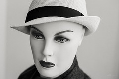 My Frequently Maligned Mannequin Head and Torso:-) (Xenotar28) Tags: