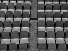 empty seats (christikren) Tags: christikren museum seats emptyseats exhibition austria art bw blackandwhite blackwhite kunstmuseum lines monochrome panasonic schwarzweiss perspective sw vienna wien